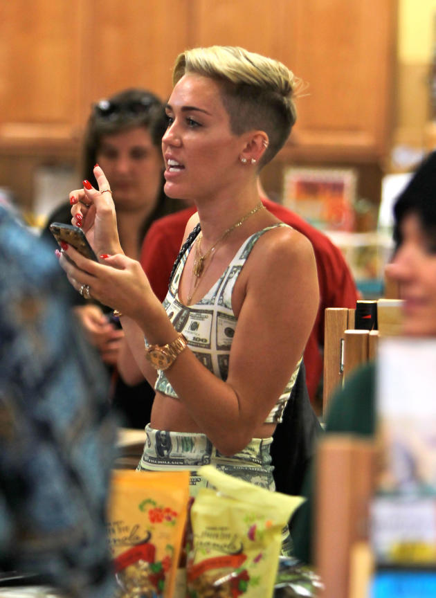 Miley Cyrus Dollar Bills Dress