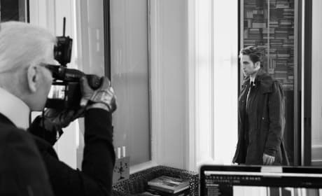 Robert Pattinson as a Model