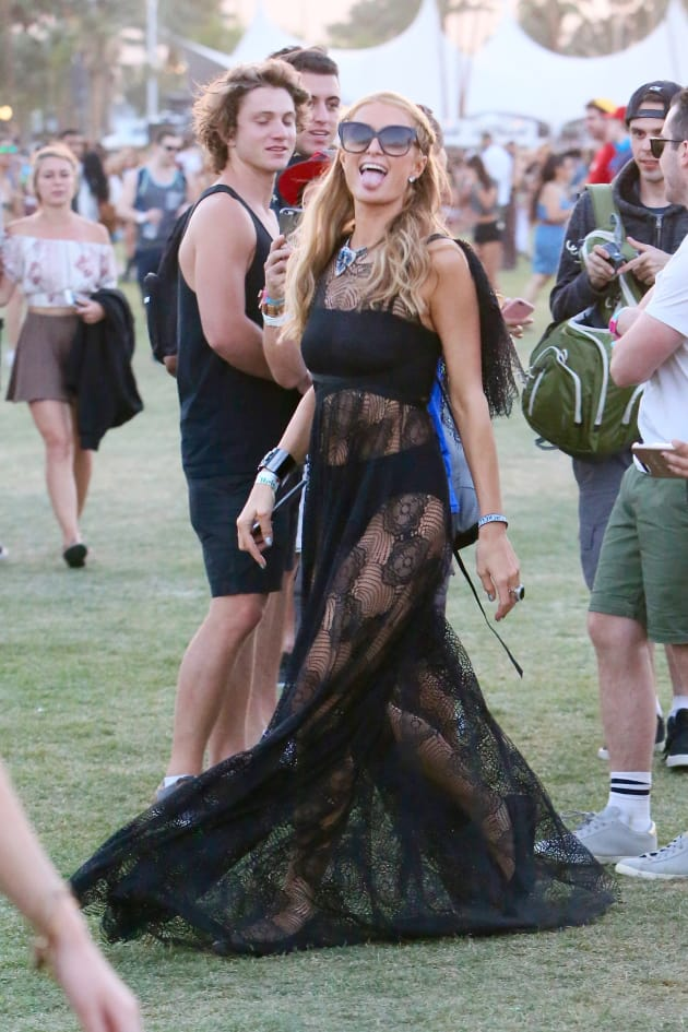 Paris Hilton Coachella 2016