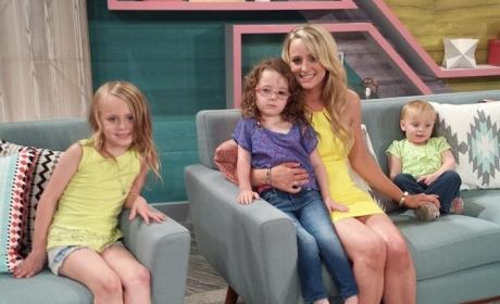 Leah Messer and Children