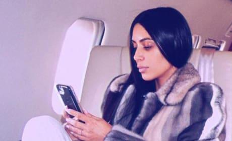 Kim Kardashian: Off to NYC!