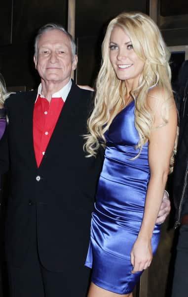 Hugh Hefner and Crystal Harris Picture