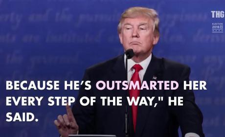 Hillary Clinton vs. Donald Trump: Third Debate Highlights