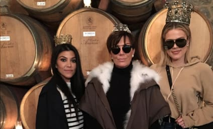 "Kris Jenner Gets Drunk, Calls French Montana a ""Motherf--ker"""