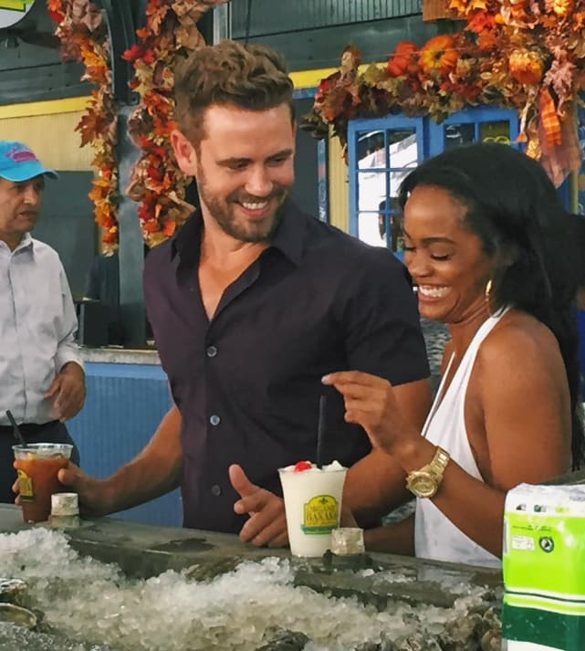 Rachel Lindsay and Nick Viall Pic