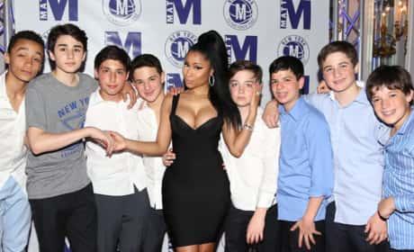 Nicki Minaj Bar Mitzvah Photo