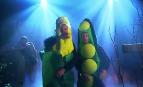 "Niall Horan and James Corden Parody ""Pony"""