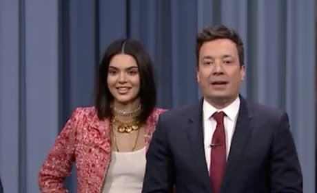 Kendall Jenner and Jimmy Fallon