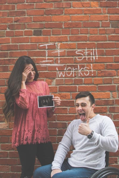 Viral Pregnancy Announcement