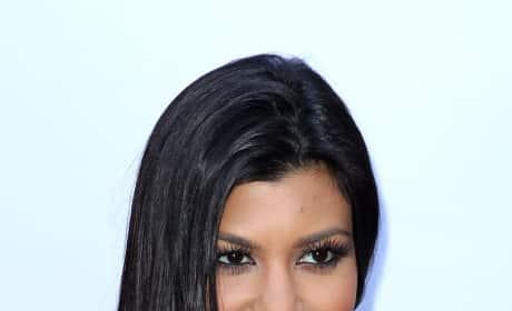 Kourtney Kardashian Premiere Pic