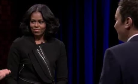 Michelle Obama Plays Catchphrase with Dave Chappelle and Jerry Seinfeld