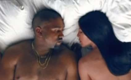 """Kanye West """"Famous"""" Video: Look Who's Naked!"""