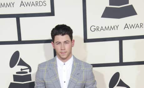 Nick Jonas at the 2015 Grammys