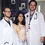 Salma Hayek Hospital Photo