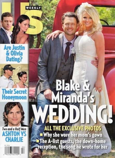 Miranda Lambert Wedding Dress