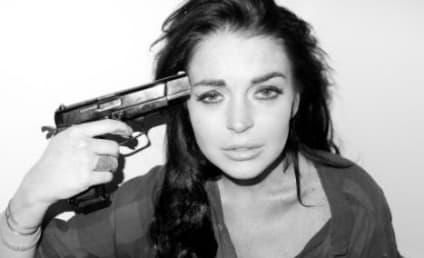 Lindsay Lohan Gun Photos Spark Controversy