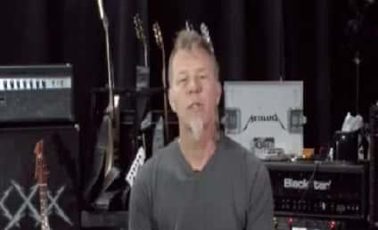 James Hetfield of Metallica Records PSA, Offers Reward to Help Find Fan's Killer