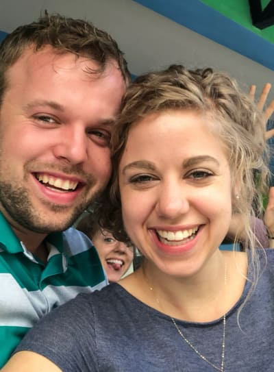 John-David Duggar and Wife
