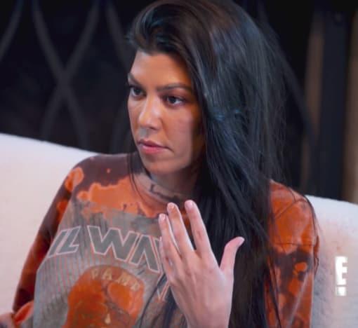 Kourtney Kardashian on the Network E!