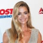 Denise Richards in a Silver Gown