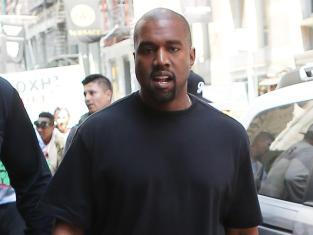 Kanye in The Big Apple