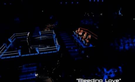 "Angel Taylor vs. Katrina Parker - ""Bleeding Love"" (The Voice Battle Round)"
