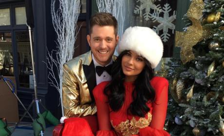 Kylie Jenner and Michael Buble
