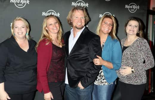 'Sister Wives' Stars Celebrate Hard Rock Cafe Las Vegas' 25th Anniversary