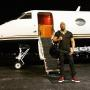 Dwayne Johnson and a Plane
