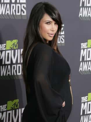 Kim Kardashian at MTV Movie Awards