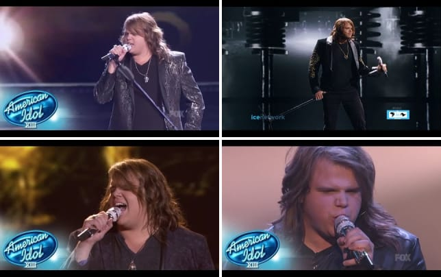 Caleb johnson as long as you love me
