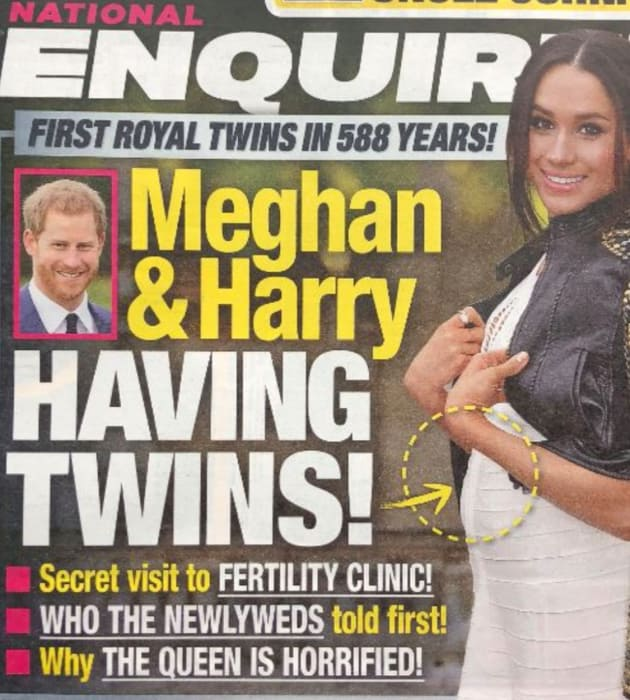 Meghan Markle: Pregnant? WITH TWINS?!?