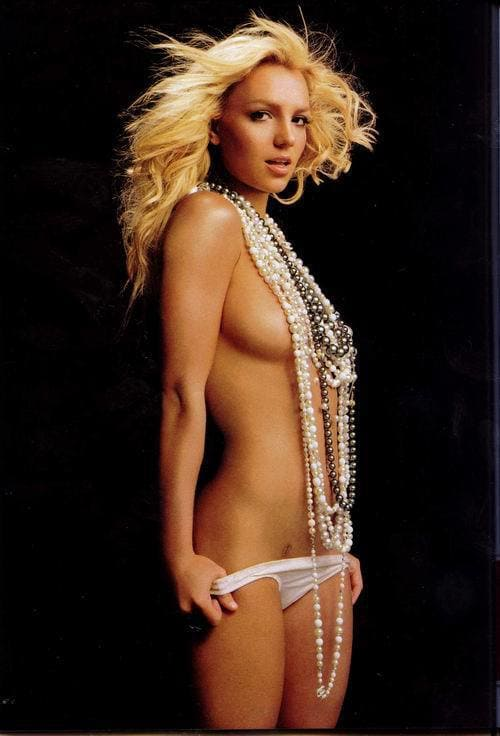 Britney spears nude and naked