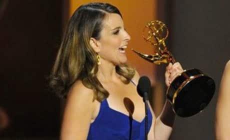 Tina Fey Emmys Dress