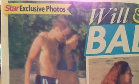 Kate Middleton Pregnant Bikini Picture