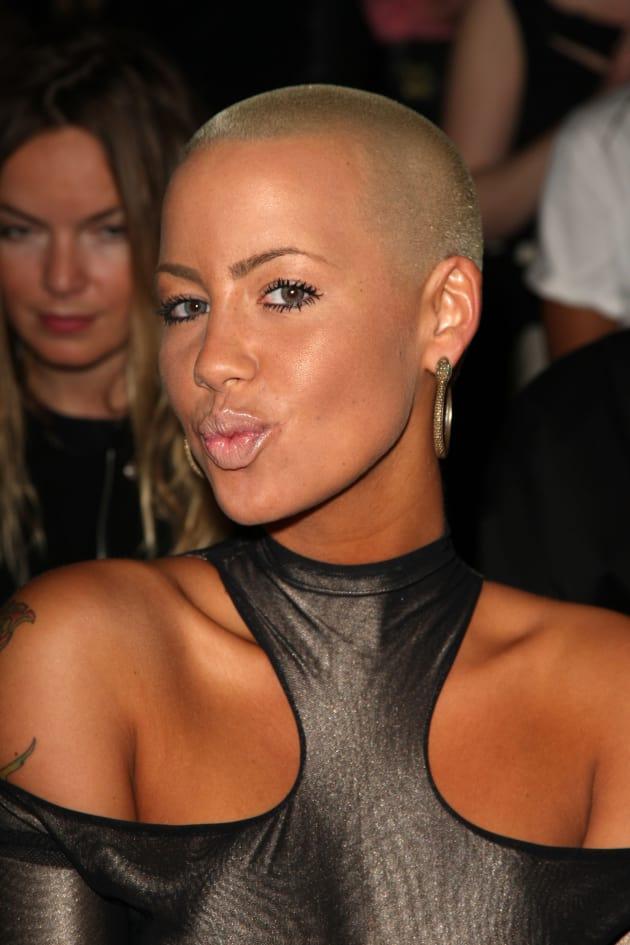 Amber Rose at Fashion Week