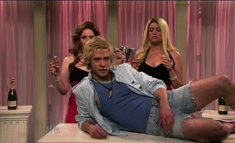 Justin Timberlake SNL Pic
