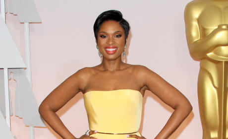 Jennifer Hudson at the 2015 Oscars