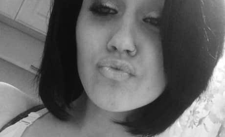 Jordan Cashmyer: Black & White selfie