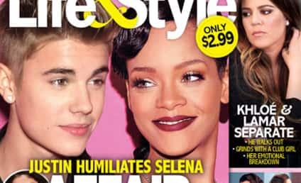 Justin Bieber-Rihanna Affair Caused Selena Gomez to Dump Him, Source Claims