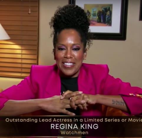 Regina King gana como actriz principal destacada en una serie limitada