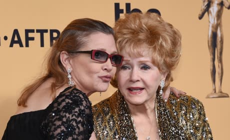 Debbie Reynolds, Carrie Fisher Photo