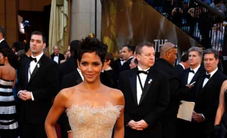 Halle Berry at the Oscars