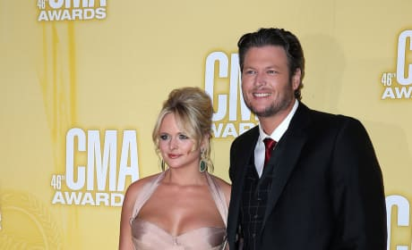 Miranda Lambert and Blake Shelton Photo