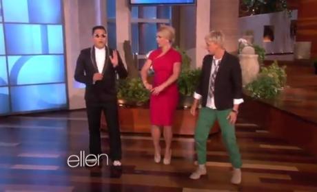 Britney Spears, Psy on Ellen