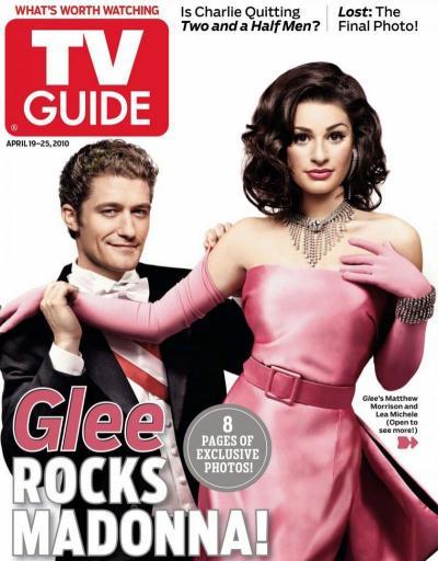 Matthew Morrison and Lea Michele Cover