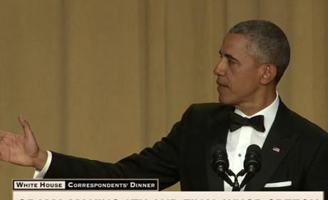 President Obama at the White House Correspondent's Dinner