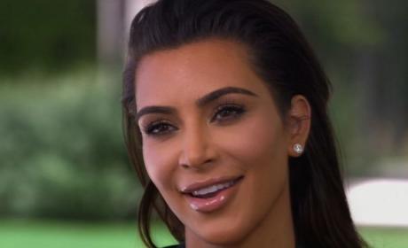 Kim Kardashian 60 Minutes Photo