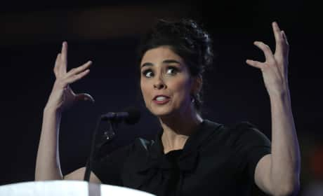 Sarah Silverman Delivers Line of the Democratic Convention