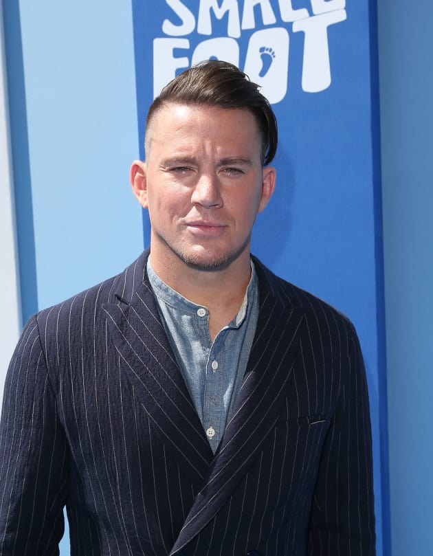Channing Tatum Poses Naked In The Shower After Losing A
